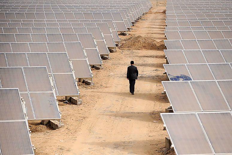 تبدیل صحراهای غیرقابل کشت به گنج انرژی برای تبدیل شدن به بزرگترین تولید کننده انرژی خورشیدی