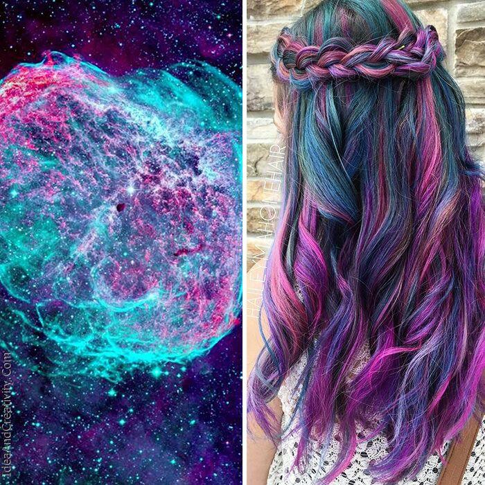 موهای کهکشانی