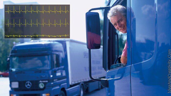 صندلی خودرو که بر وضعیت قلب شما نظارت می کند