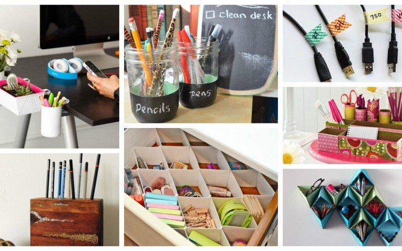 ایده هایی برای مرتب کردن دفتر و میزکار