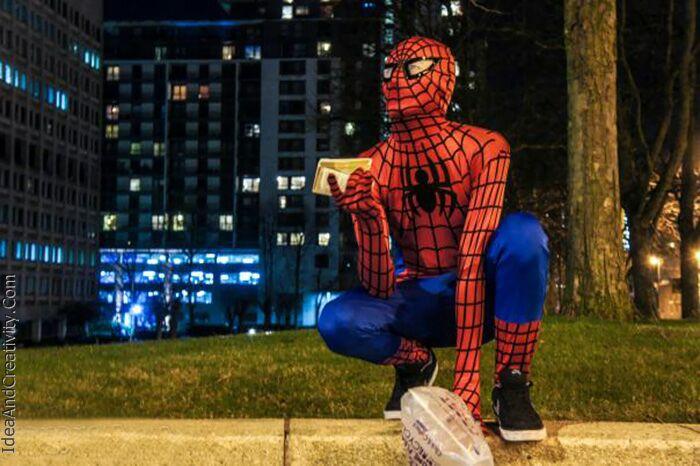 مرد عنکبوتی نا شناس