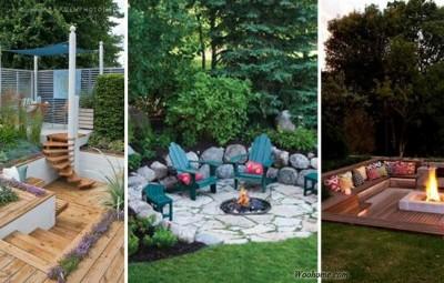 ایده های بسیار زیبا برای باغ و حیاط شما