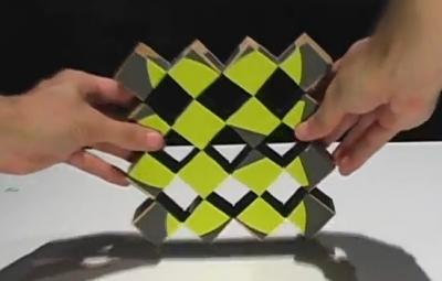 چگونه مکعب های متحرک بسازیم؟