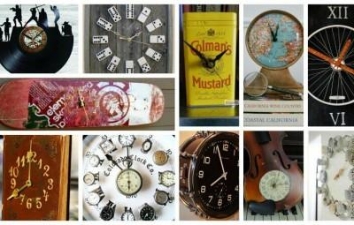 ساخت ساعت های فوق العاده جالب و خلاقانه با وسایل قدیمی