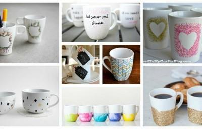 لیوان های خود را بسیار زیبا و خلاقانه تزئین کنیم