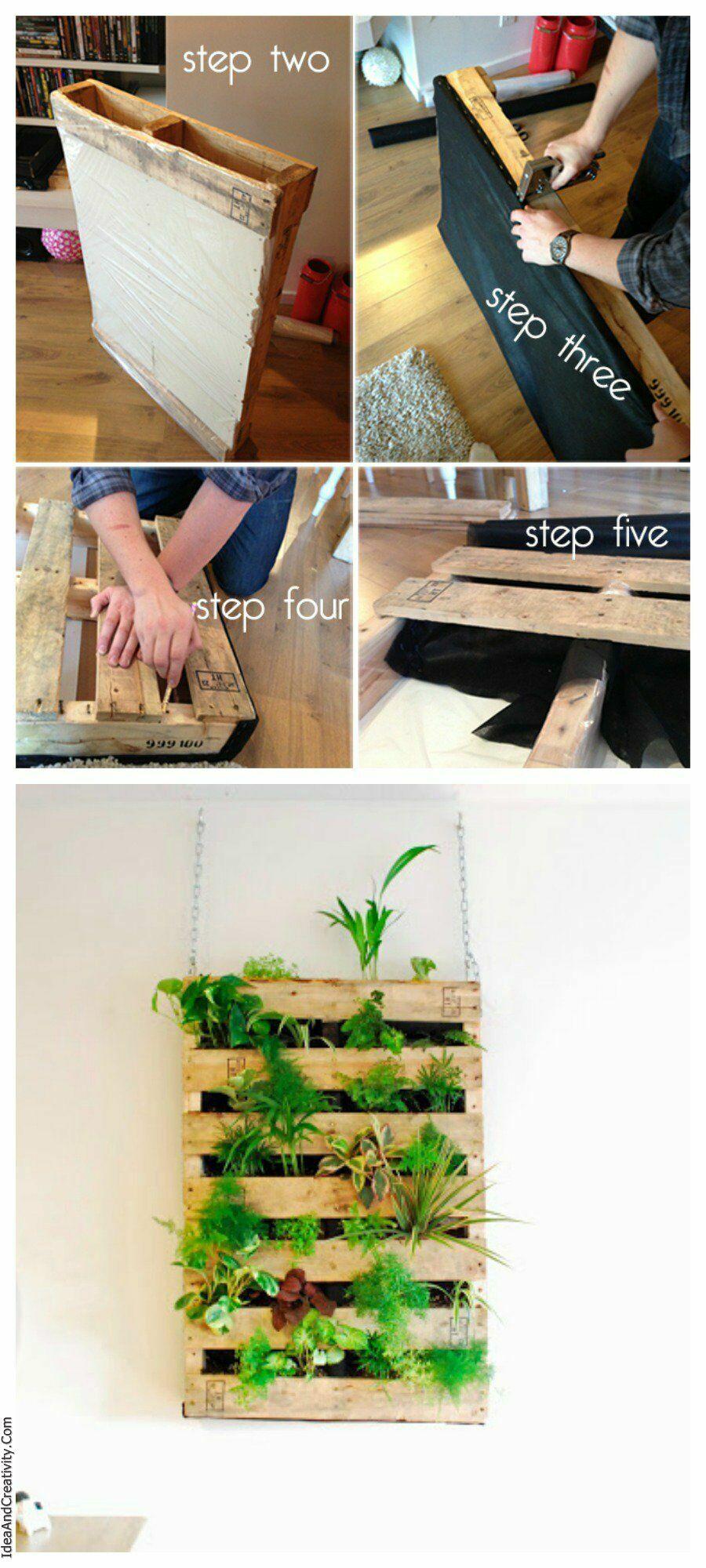 DIY-Pallet-Living-Wall