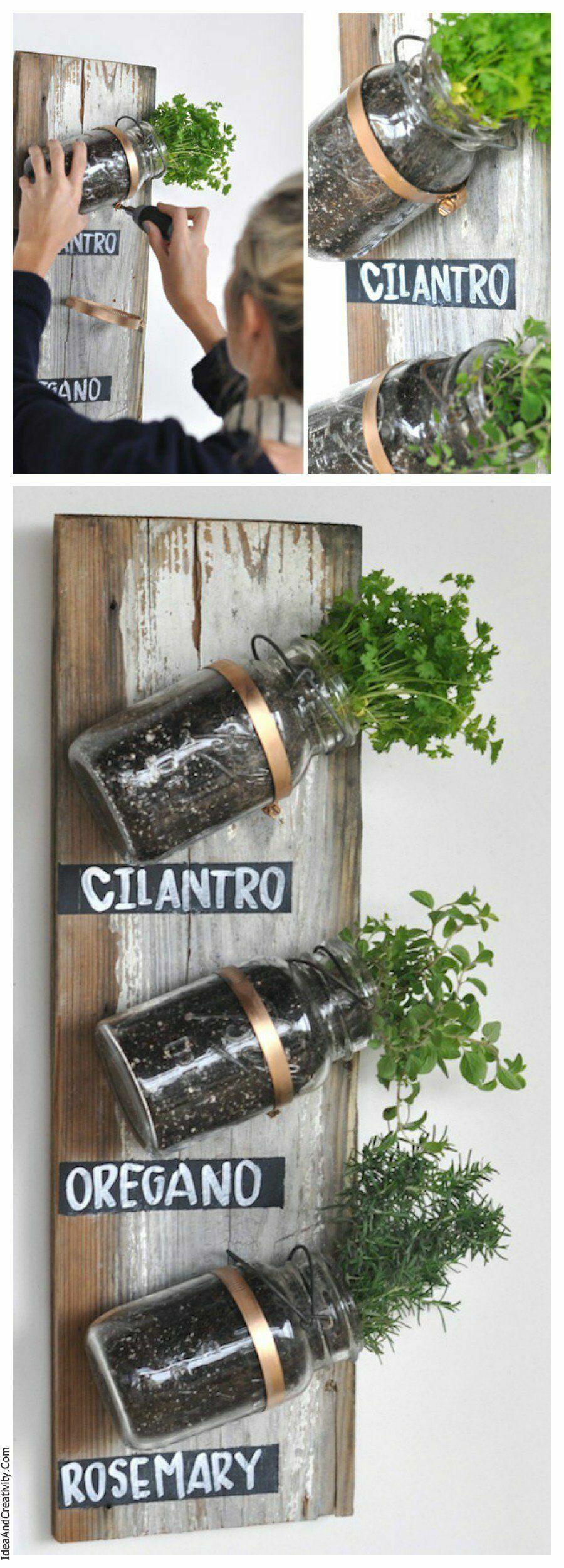 Mason-Jar-Herb-Garden