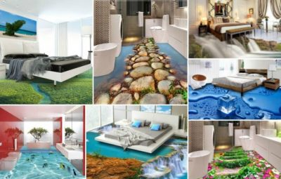 طرح های بسیار زیبای ۳ بعدی برای کف منزل