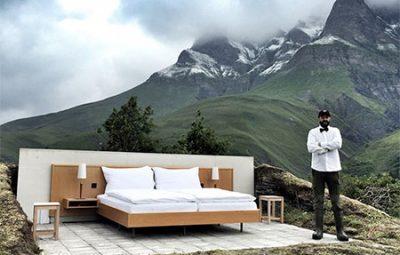 هتلی جالب و عجیب در سوئیس