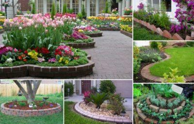 ایده های جالب برای طراحی آجرها در حیاط منزلتان( تصویر)
