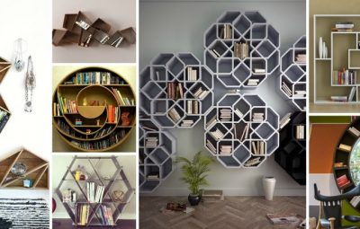 ۱۰ قفسه به شکل های زیبای هندسی