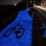 روشنایی مسیرهای دوچرخهسواری با فناوری جدید