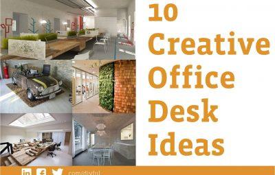 10 میز خلاقانه برای محیط کار