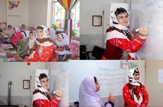 روش خلاقانه خانم معلم زنجانی: زنگ بعدی، زنگ سیب!