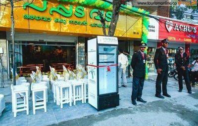 ابتکار جالب یک رستوران در هند