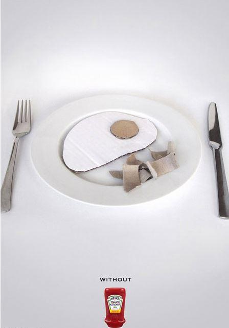 تصویر غذای بدون سس!