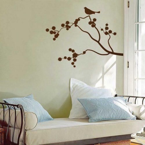 خلاقیت بر روی دیوارهای خانه