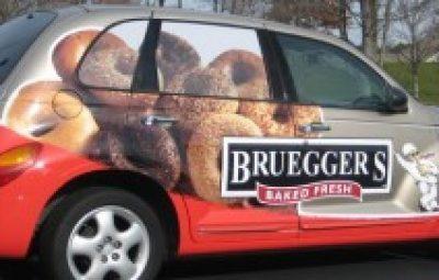 ایده تبلیغات روی خودرو