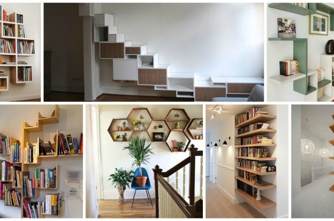 قفسه های کتاب خلاقانه