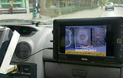 خلاقیت یک راننده تاکسی بجنوردی در کسب درآمد