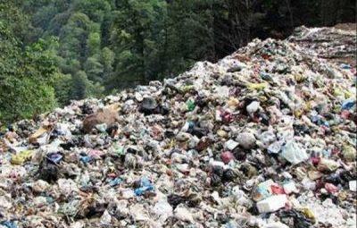 دفن زباله عروس شهرهای شمال در جنگل