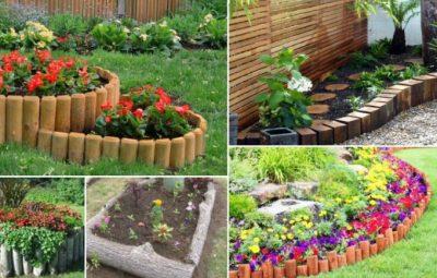 ایده های بسیار زیبا برای باغ های چوبی