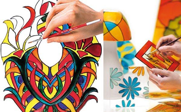 طراحی روی شیشه یک کسب و کار خوب برای جوانان بدون تخصص