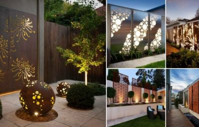 Impressive Metal Fence Panels That Will Beautify Your Outdoors