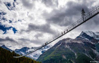 طولانیترین پل معلق جهان در سوئیس افتتاح شد