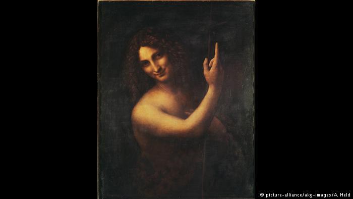 یحیای تعمید دهنده اثر لئوناردو داوینچی