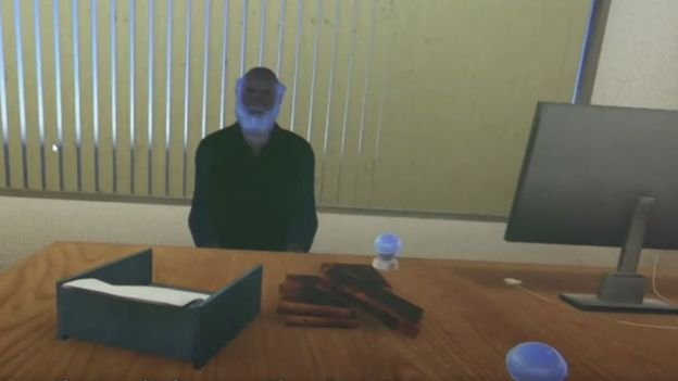 درمانگر مجازی که با عینک ویآر دیده میشود