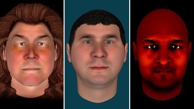 سه آواتاری که شرکتکنندگان در تحقیق تجسم صدای درون سرشان، خلق کردند
