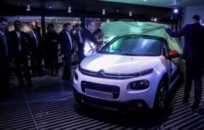شرکت سایپا از خودروی مشترک با سیتروئن فرانسه رونمایی کرد