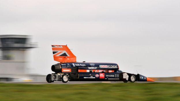 بلادهاند میخواهد با این ماشین تا سه سال دیگر رکورد سرعت روی زمین را بشکند